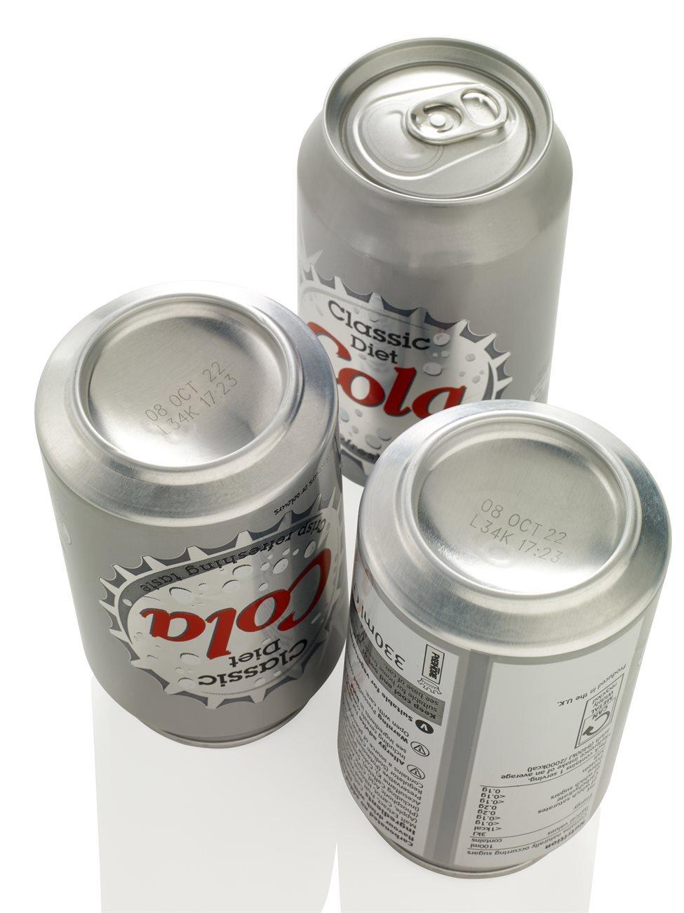 Mærkning på aluminiumsdåser