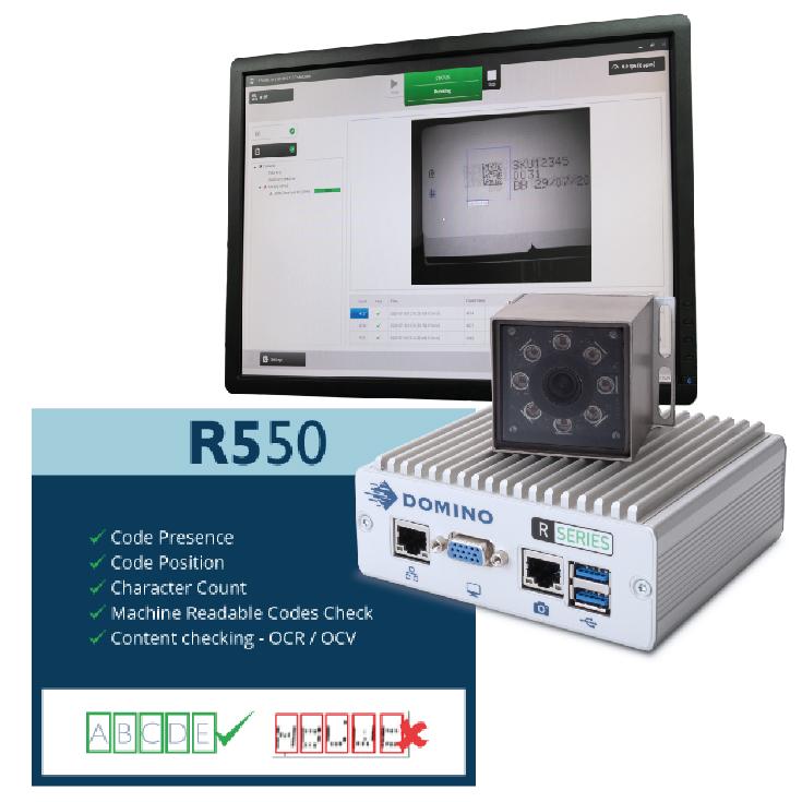 Dominos R550 Vision System