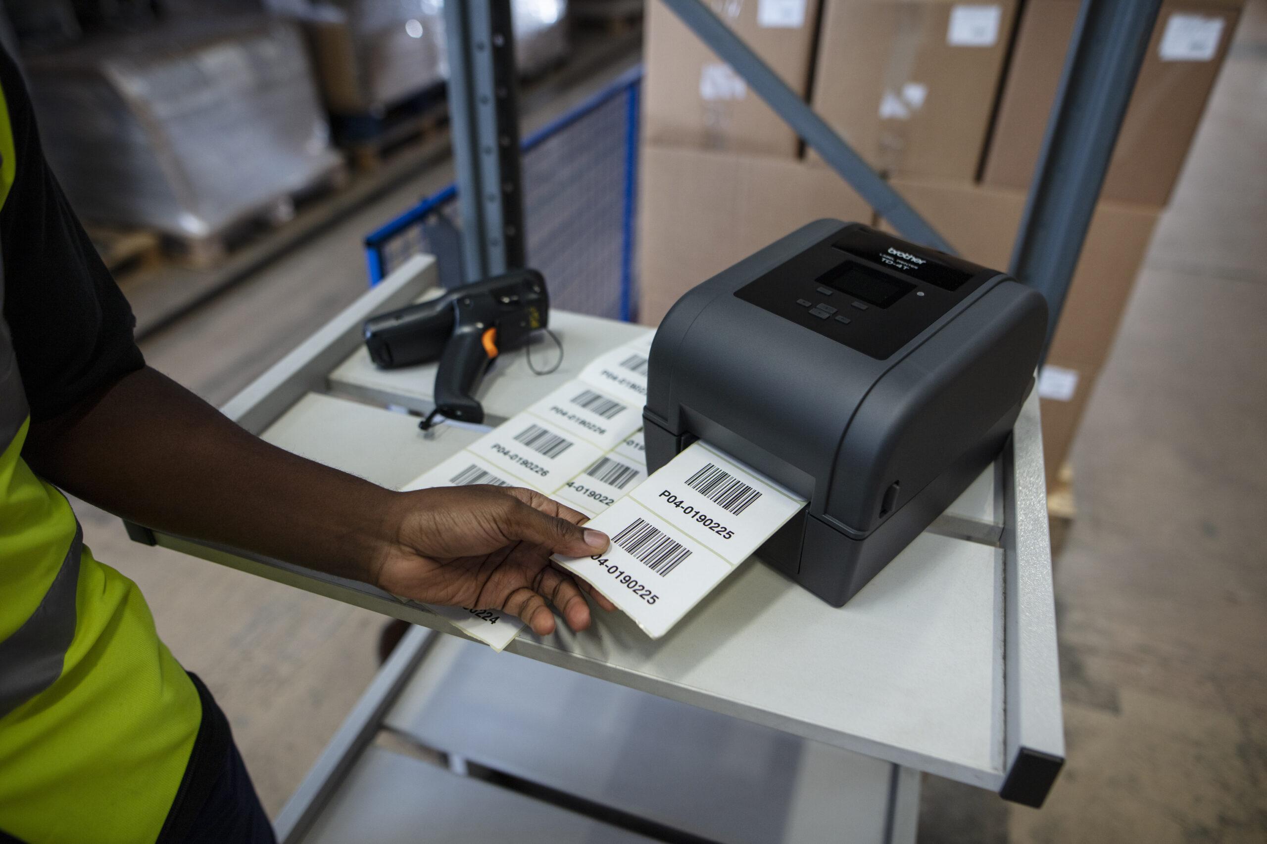 Label der bliver printet Td-4750TNWB